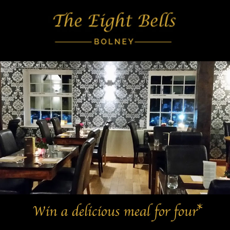 Win A Meal For Four At The Eight Bells